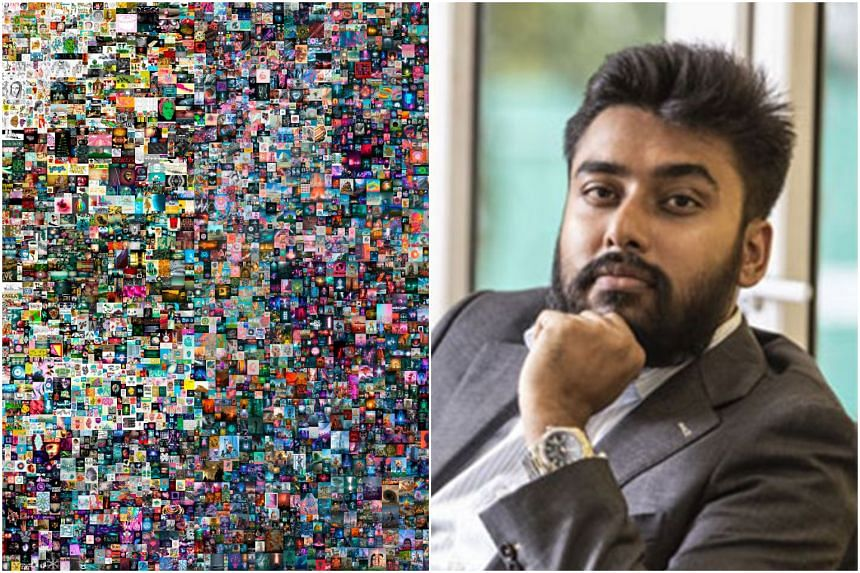 Mr Vignesh Sundaresan, who uses the handle Metakovan, was revealed to be the person who bought the artwork Everydays: The First 5,000 Days.