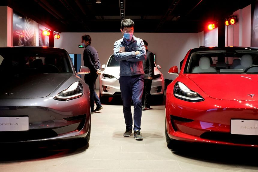 The ban was triggered by concerns that Tesla is collecting sensitive data via the cars' in-built cameras.