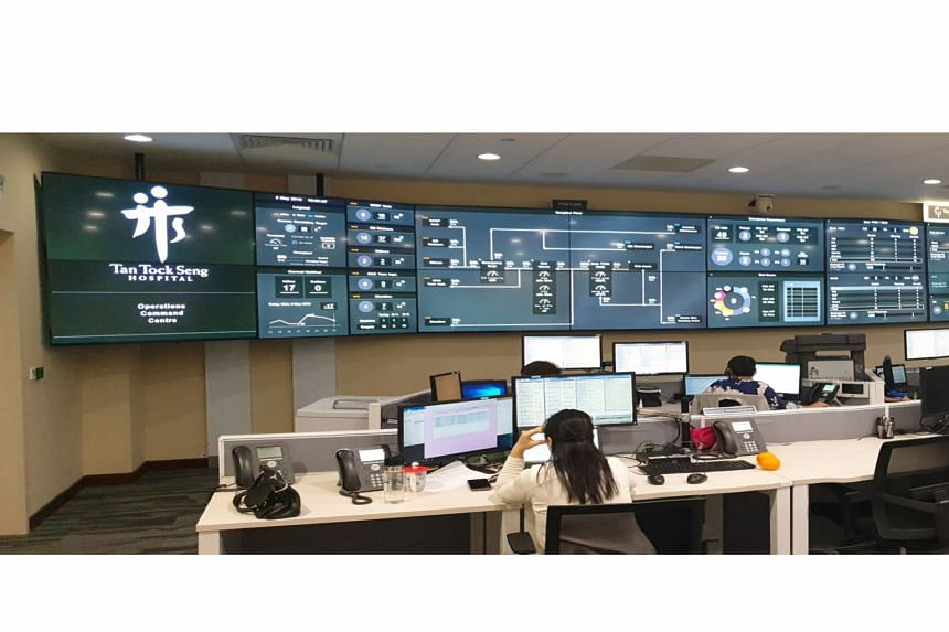 The Command, Control and Communications (C3) system at Tan Tock Seng Hospital helped the National Centre for Infectious Diseases to quickly make bed space available for patients and safely manage crowd flow.