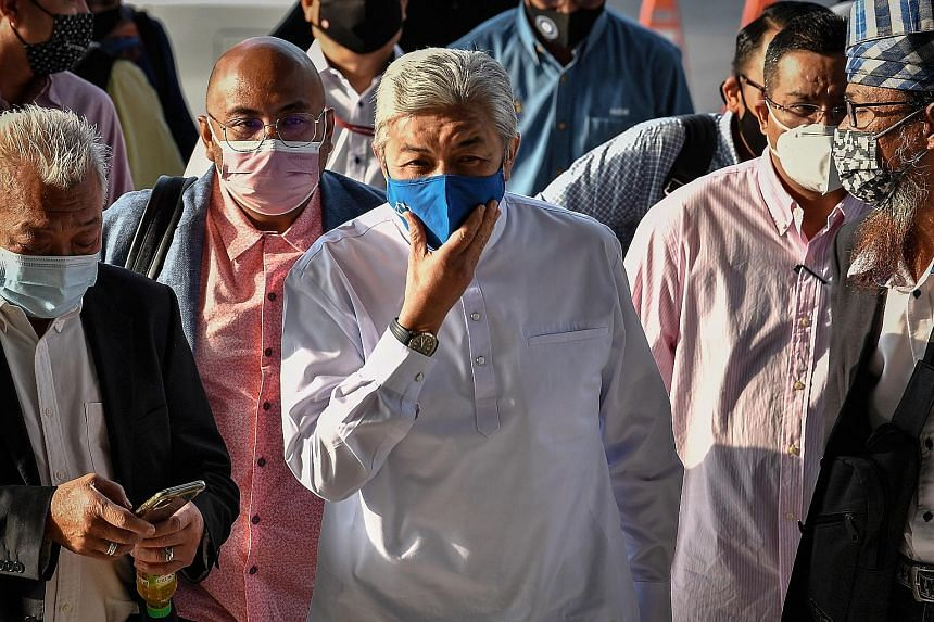 Umno president Ahmad Zahid Hamidi faces 47 charges involving criminal breach of trust, receiving bribes and money laundering revolving around tens of millions of ringgit linked to the charity Yayasan Akalbudi.