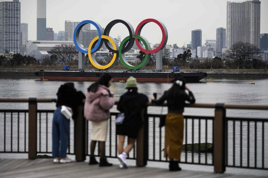 Overseas fans will be barred from the Tokyo Olympics.