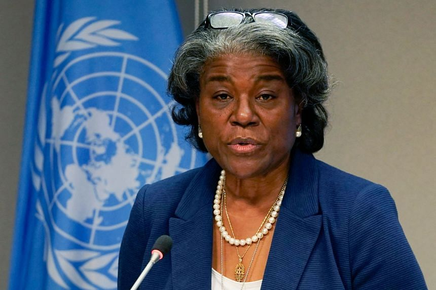 US ambassador to the United Nations Linda Thomas-Greenfield recalled her own experiences with racism.