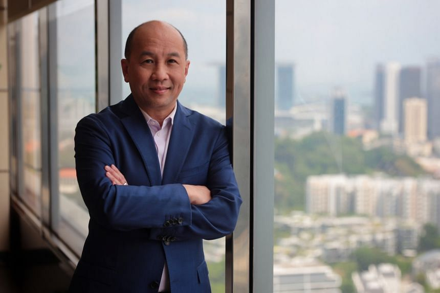 """Singtel Group chief executive officer Yuen Kuan Moon says the most important thing in a crisis is to """"never let your emotions get ahead of you""""."""