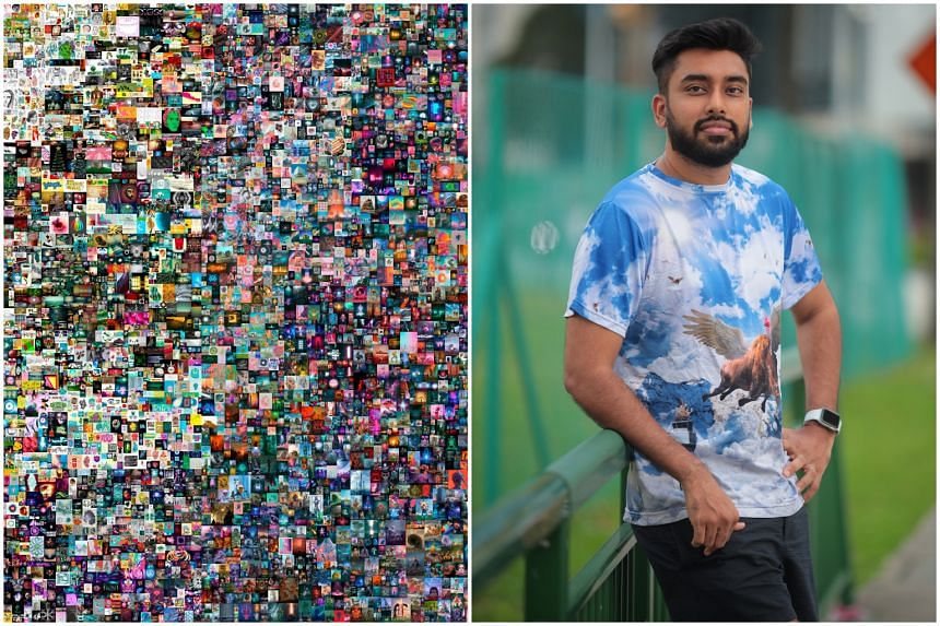 Metakovan, the alter ego of Vignesh Sundaresan, caused a stir in the art world when he bought Everydays: The First 5,000 Days at a Christie's auction.
