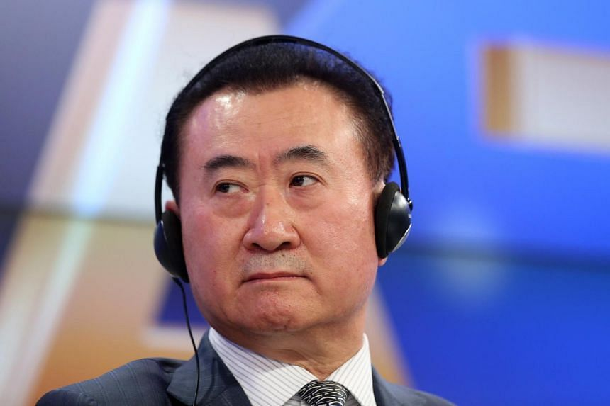 Mr Wang Jianlin's reversal in fortune came in 2017.