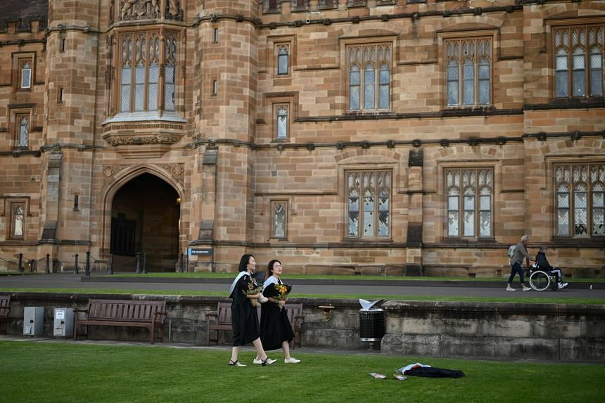 Australia's international student sector was worth about A$40 billion (S$41.5 billion) in 2019.
