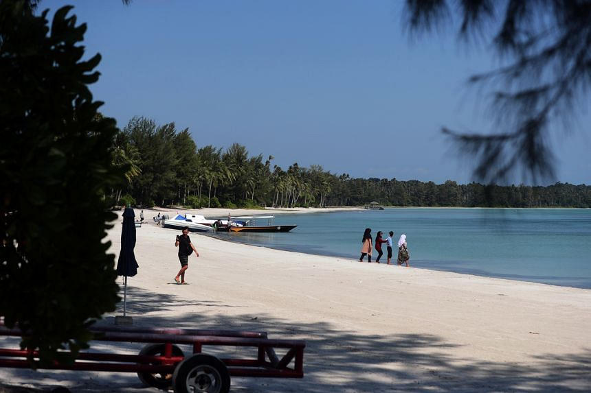 The plan is to start reopening tourist spots in Lagoi, Bintan, on April 21, ahead of the country's main tourist spot Bali.