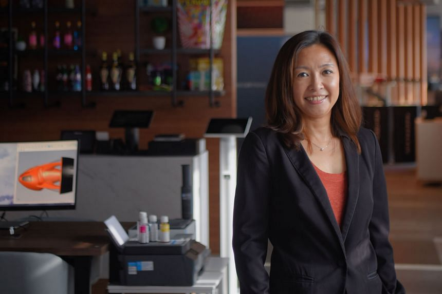 """Ms Vivian Chua, the Singapore managing director of technology giant HP Inc, says she has never felt sidelined or undermined because of her gender. """"You just need to be able to hold your own,"""" she adds."""