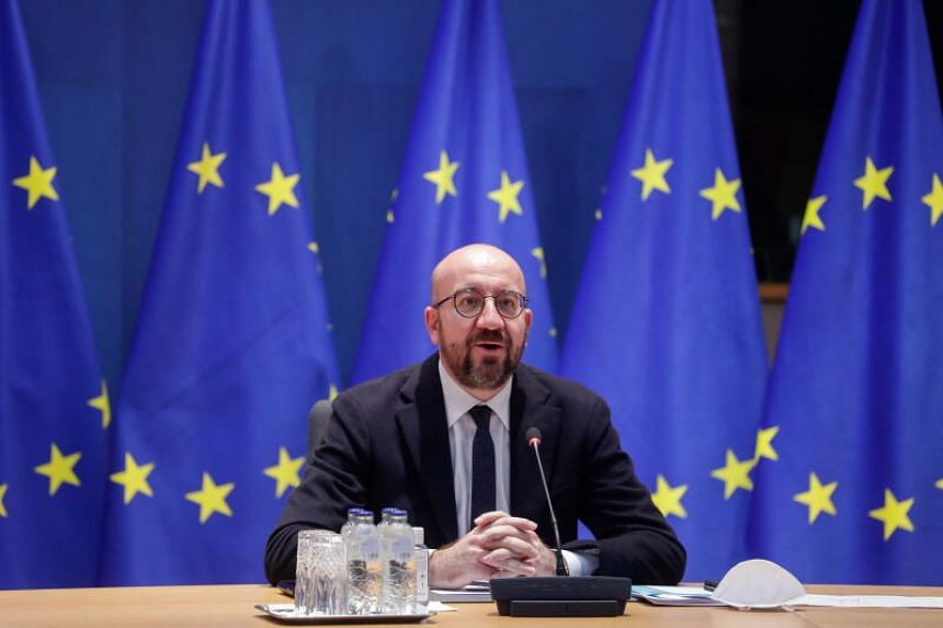 European Council chief Charles Michel made the decision following the surge of Covid-19 cases in member states.