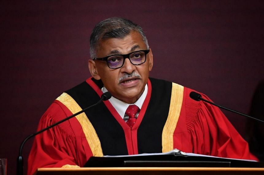 Chief Justice Sundaresh Menon (above) was appointed as a new member with Ms Liz Kyo-Hwa Chung and Professor Richard Susskind OBE.