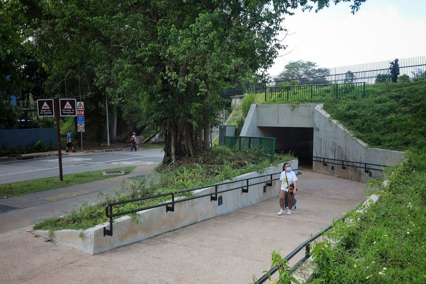 As part of the improvements, a new underpass for pedestrians was built at Hindhede Drive after feedback from the public.
