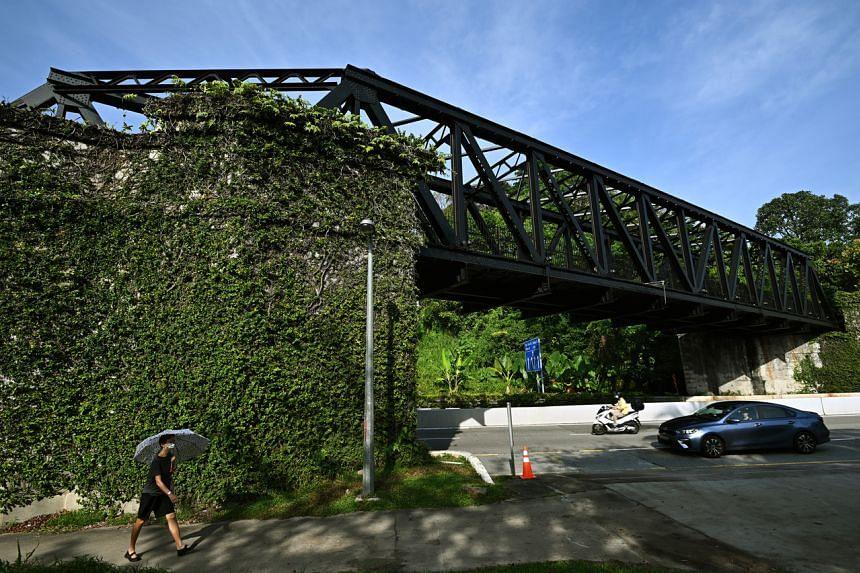 The Upper Bukit Timah Truss Bridge.