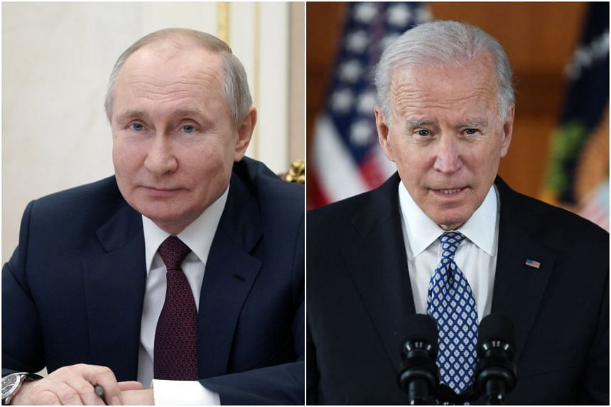 Mr Vladimir Putin had said he and Mr Joe Biden should hold live online talks.