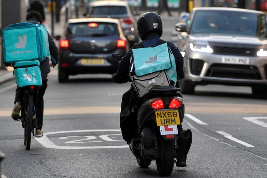 Deliveroo plans to sell as many as 384.6 million shares in the IPO.