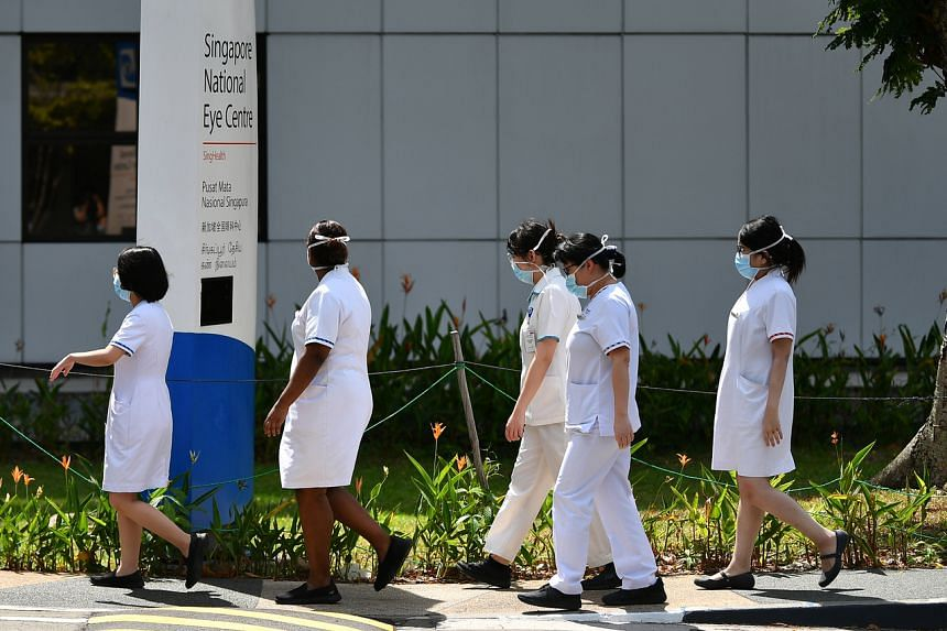 Discussions on whether nurses can wear the tudung at work will take a few more months, and the Government will announce its decision after that, said Mr Shanmugam on March 23, 2021.