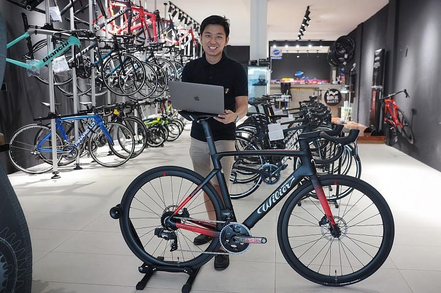 Mr Tan Jiayu's business has risen to become one of the top five sellers on Lazada.