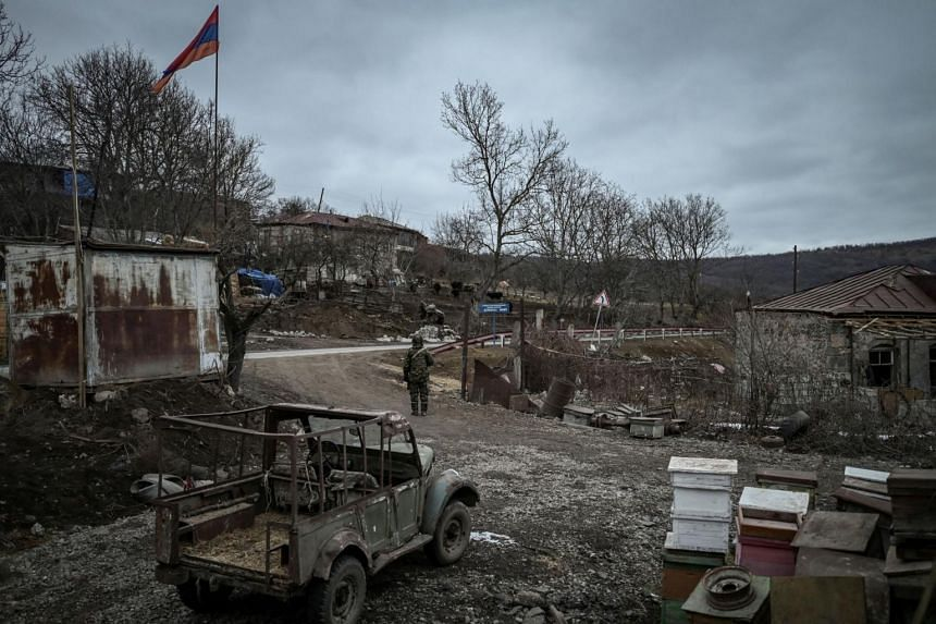 Armenia's simmering territorial conflict with Azerbaijan ignited in September into an all-out war.