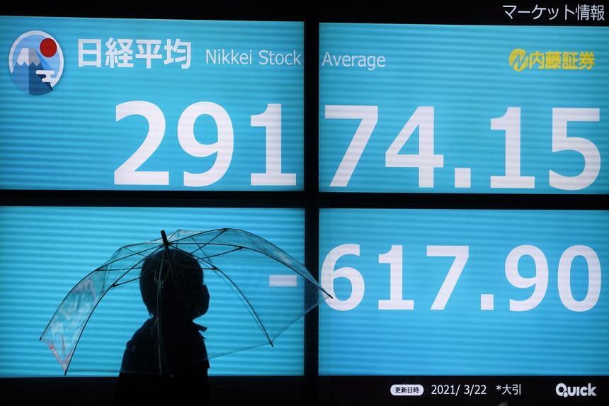 Japan's Nikkei stumbled 1.8 per cent while South Korea's Kospi slipped 0.5 per cent.