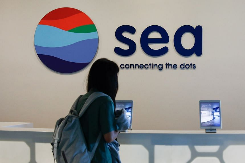 Singapore-based Sea's share price has risen five-fold over the past year, giving it a market value of US$111 billion.