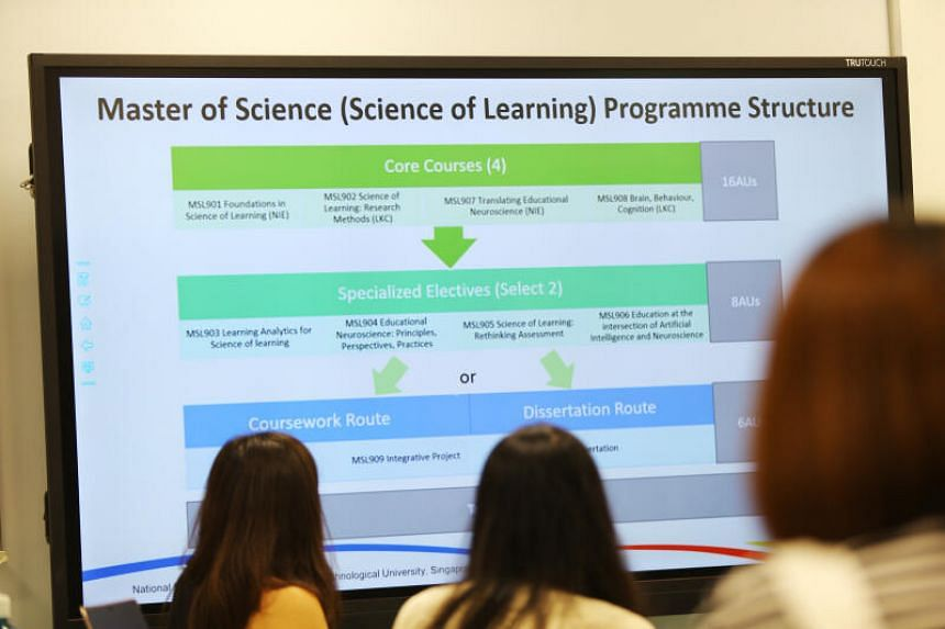 A new masters programme, the Master of Science (Science of Learning), was also launched.