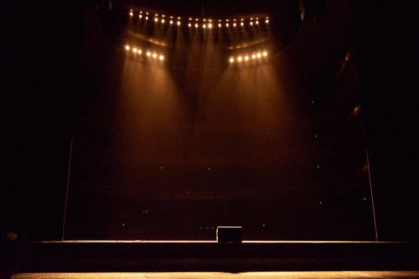 #Theatre by collective Index, part of the Esplanade Studios season in January 2021.