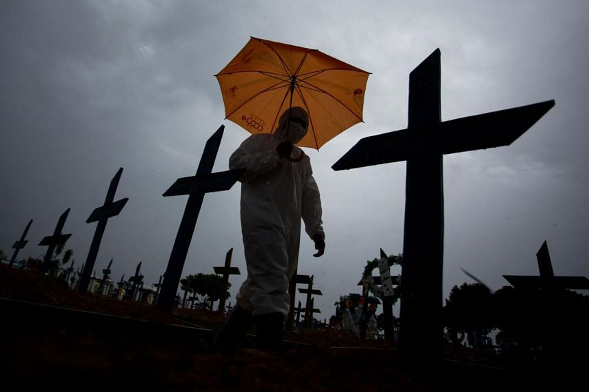 Brazil currently has the highest daily death toll in the pandemic by far.