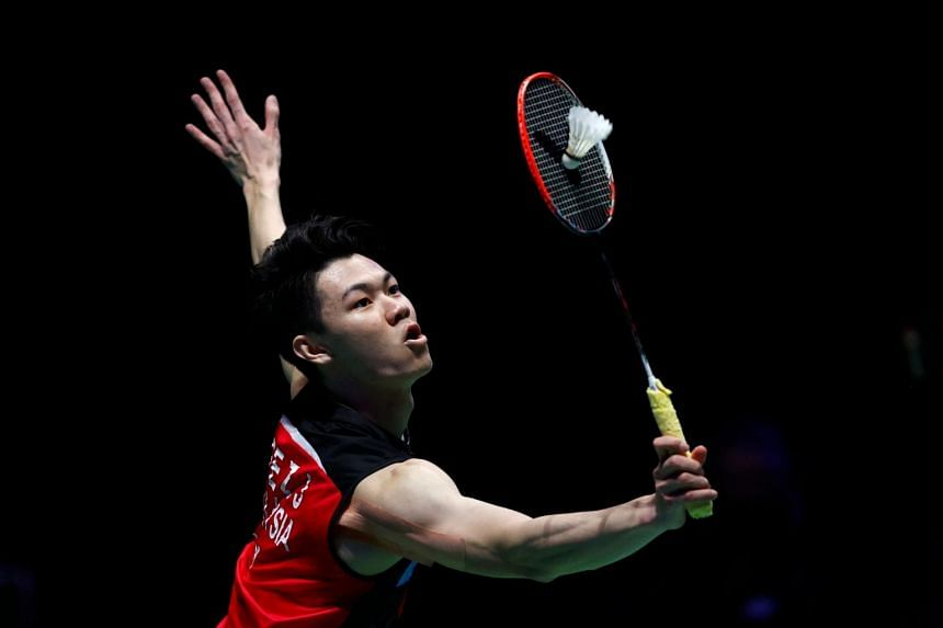 Lee Zii Jia first picked up a racket when his dad took him to a badminton club when he was six.