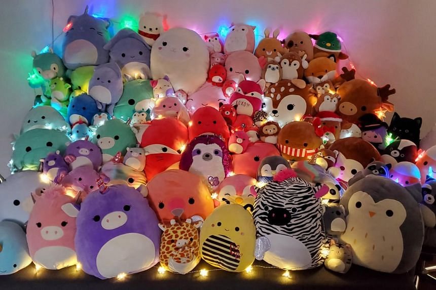 According to the company, sales of Squishmallows have tripled in the past six months.