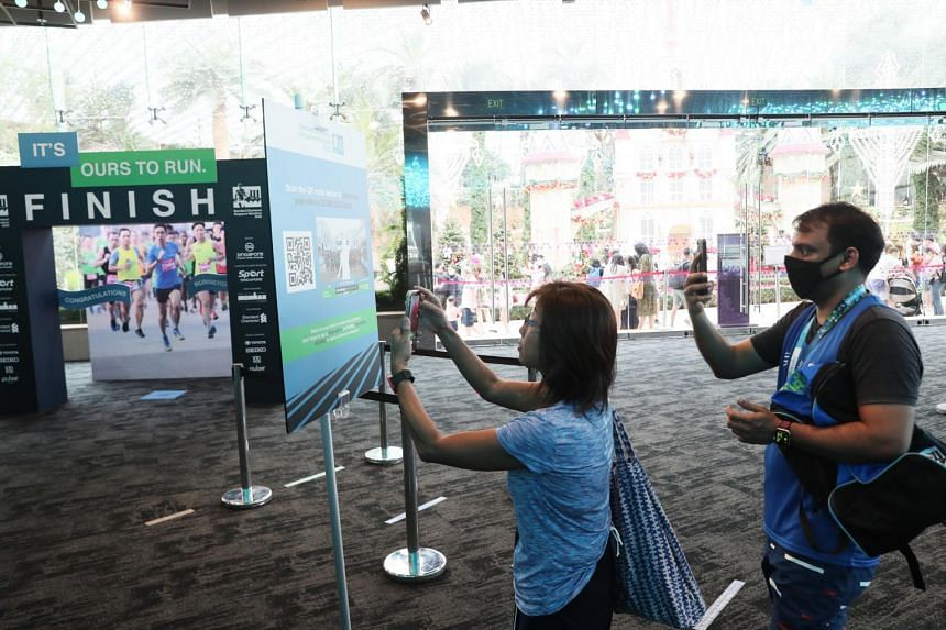 Standard Chartered Singapore Marathon had incorporated a virtual race and featured augmented reality in 2020.