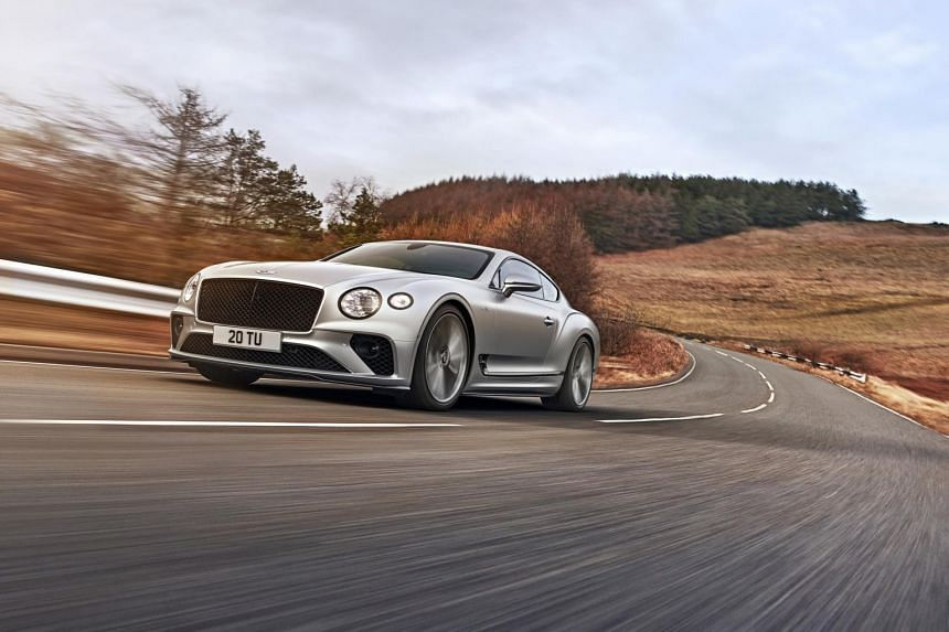Bentley's new Continental GT Speed is powered by a revised 6-litre turbocharged W12.