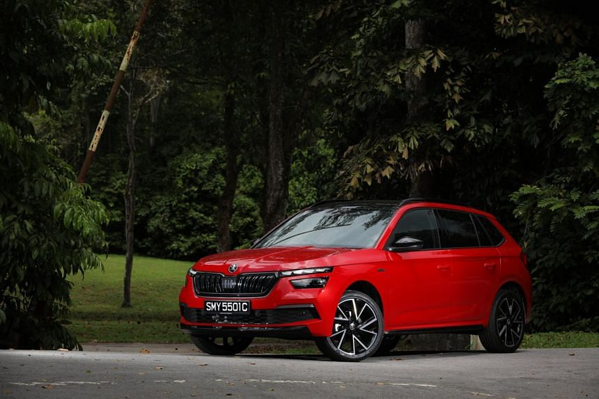 The new Skoda Kamiq is slightly smaller than the Skoda Karoq but offers nearly as much utility.