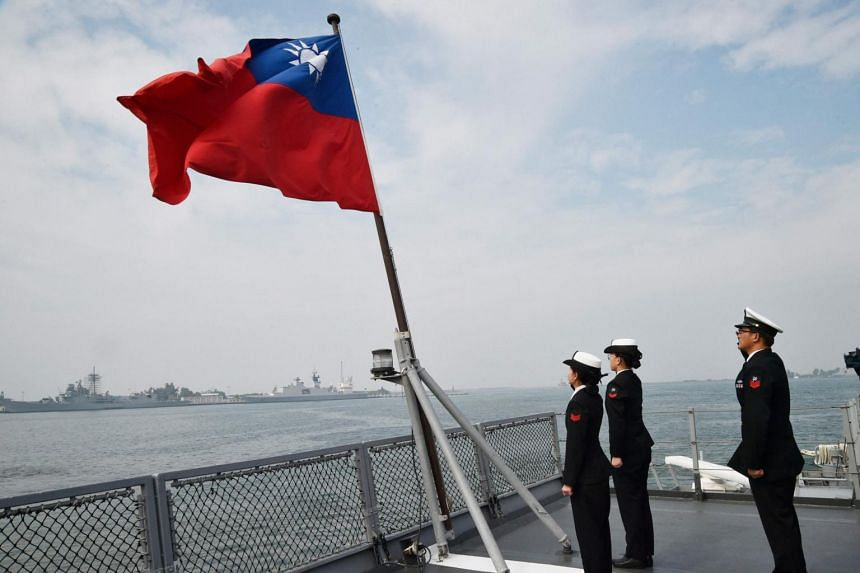 Taiwan is upgrading its coast guard with new ships, which can be drafted into naval service in the event of war.