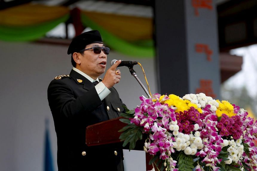 General Yawd Serk, chair of the Restoration Council of Shan State/Shan State Army, one of the ethnic armed groups to have denounced the coup.