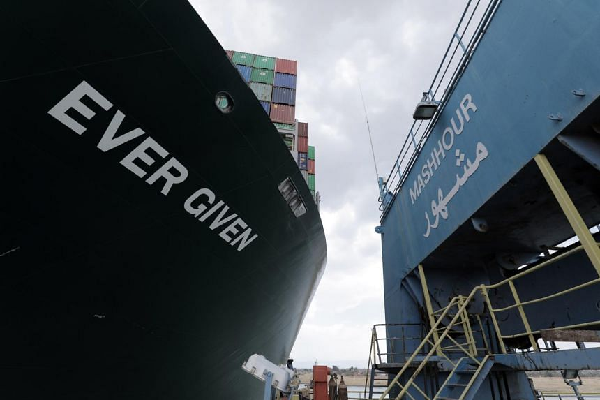 Operations will begin this weekend to remove containers from the grounded ship.