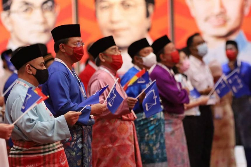 Umno's annual national congress on March 27, 2021.