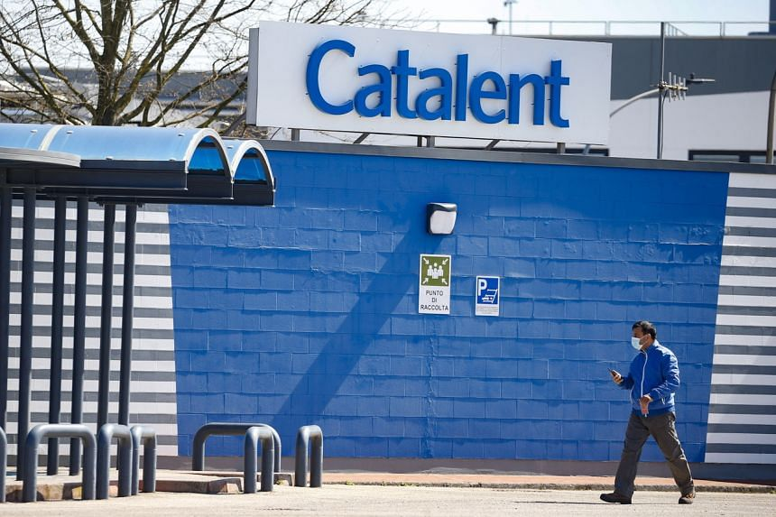 Catalent's facility has been buzzing with vaccine activity for months.