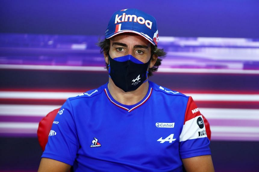 Fernando Alonso acknowledged he had probably misunderstood the question.