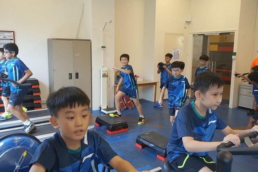 Montfort Junior School students in their specialised fitness lesson as part of the MSPEX Programme.