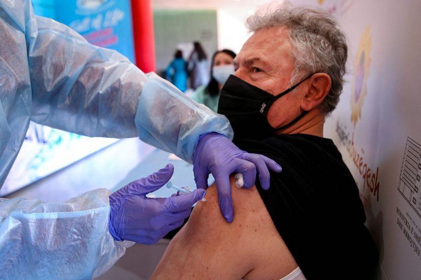 Vaccine scepticism runs high in Russia.