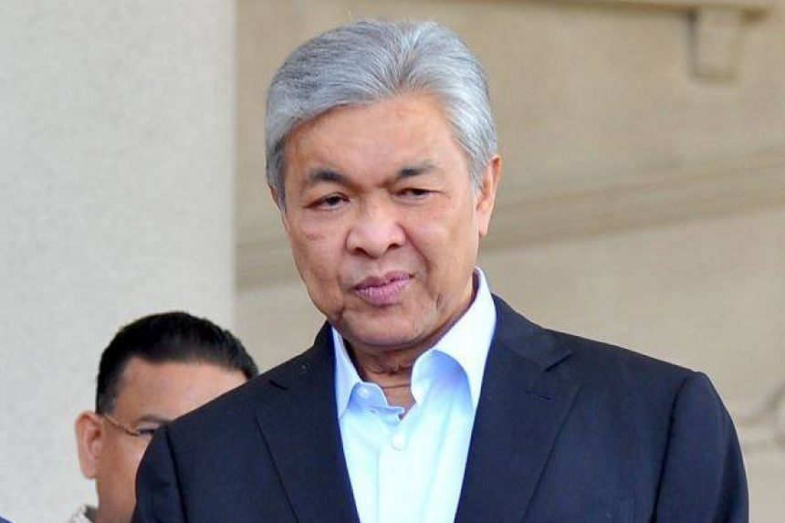 Umno president Ahmad Zahid Hamidi said PAS contravened the Muafakat Nasional agreement.