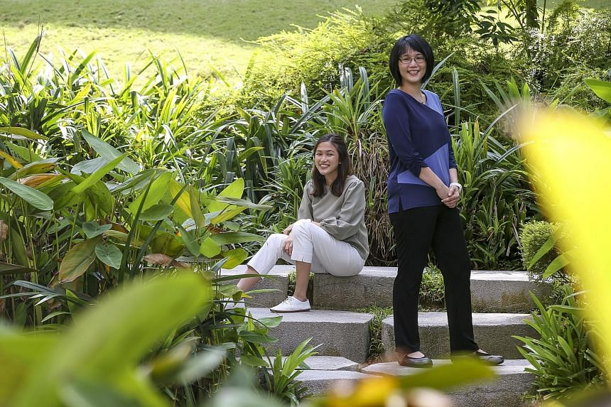 Yale-NUS College graduate Joanna Chue (above left) and Assistant Professor Cheung Hoi Shan (above right) identified five aspects of mental resilience that made students less susceptible to burnout.