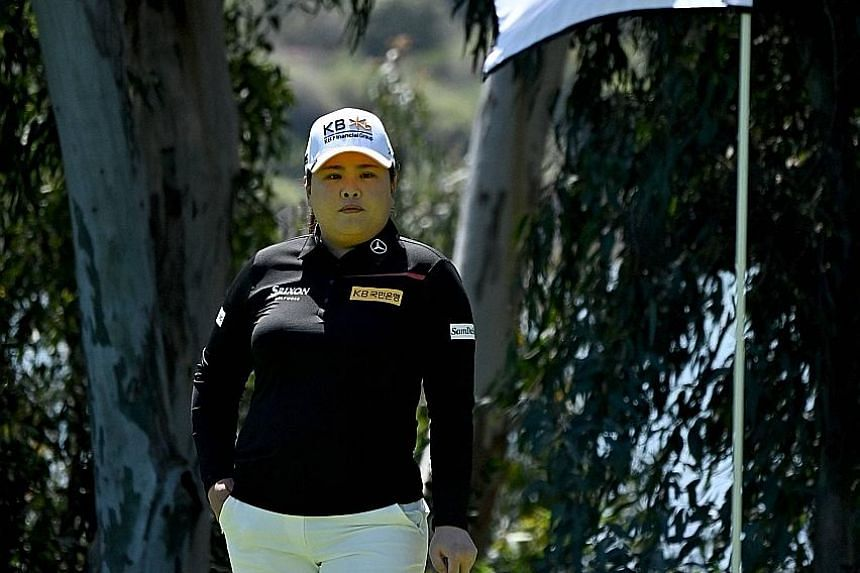 Park In-bee has designs on another ANA Inspiration title next week after the one she won in 2013.