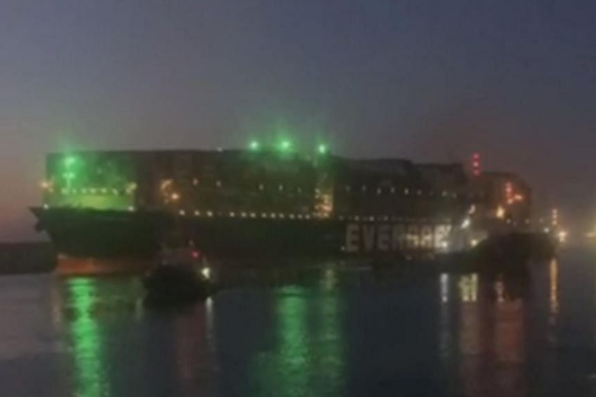 The Ever Given was successfully refloated at about 4.30am local time in Egypt on March 29.