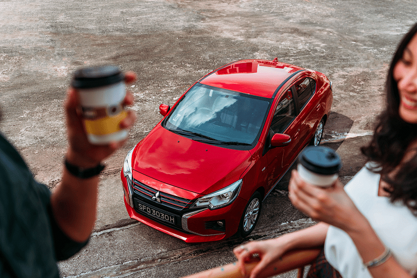 Experience what it's like to own a stylish, fuel-efficient car that lets you do more with less. PHOTO: MITSUBISHI MOTORS