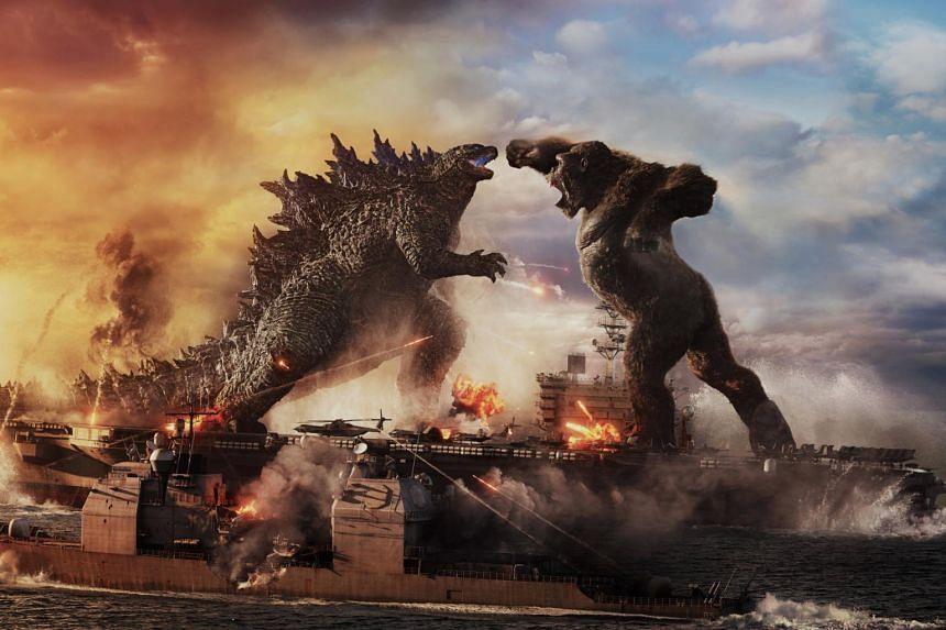 Godzilla Vs. Kong had an opening weekend take of $2.19 million in Singapore.