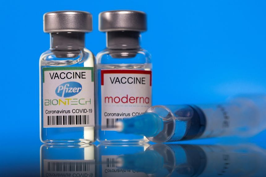 Pfizer, Moderna Covid-19 vaccines highly effective even after first shot in  real-world use, United States News & Top Stories - The Straits Times