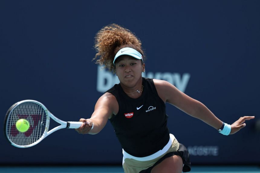 Naomi Osaka is seeking her first Miami Open crown.
