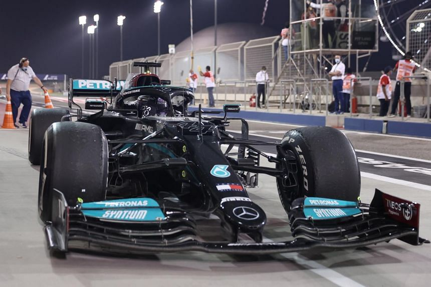 Aerodynamic tweaks have also affected those teams such as Mercedes with a low-rake car.