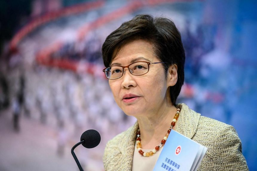 Chief Executive Carrie Lam said a small number of principal officials of the Hong Kong government will make up the new Candidate Eligibility Review Committee.