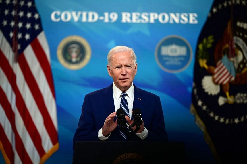 US President Joe Biden delivers remarks on Covid-19 response and vaccinations at the White House, on March 29, 2021.